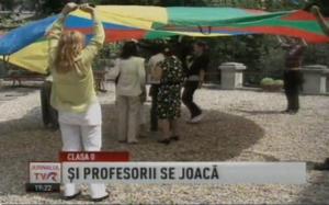 ISE - despre clasa pregatitoare la Ora de Știri - TVR2