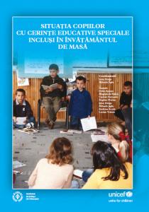 Situația copiilor cu cerințe educative speciale incluși în învățământul de masă
