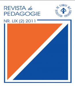 REVISTA DE PEDAGOGIE NR. 59 (2)/ 2011