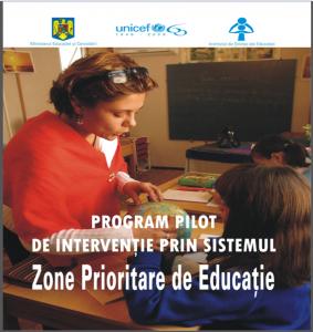 Program pilot de interventie prin sistemul Zone Prioritare de Educatie