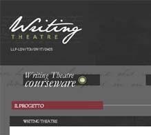Writing Theatre