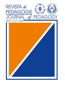 REVISTA de PEDAGOGIE – JOURNAL of PEDAGOGY No. 1 / 2017