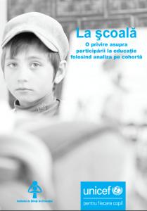 La şcoală - O privire asupra participării la educație folosind analiza pe cohortă