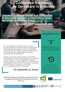 Conferința Națională de Cercetare în Educație - CERED